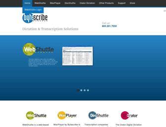 bytescribe.com screenshot