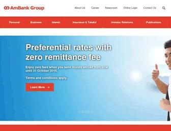 ambankgroup.com screenshot