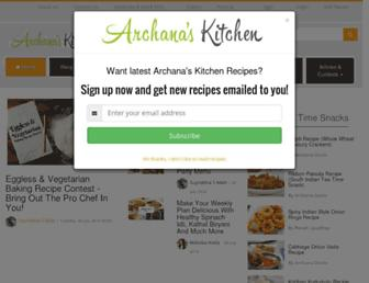 Thumbshot of Archanaskitchen.com