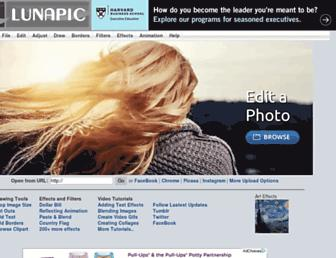 lunapic.com screenshot