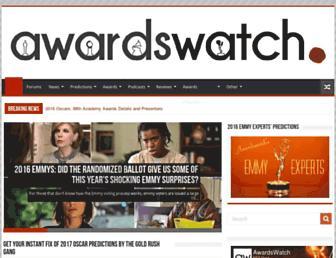 awardswatch.com screenshot