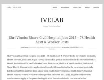 ivelab.com screenshot