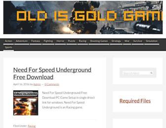 oldisgoldgames.com screenshot