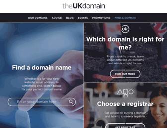 theukdomain.uk screenshot