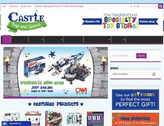 castletoysandgames.com screenshot