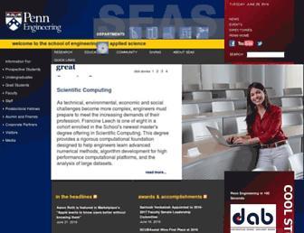 seas.upenn.edu screenshot