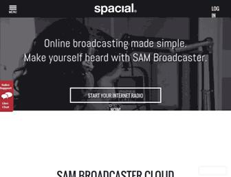 spacial.com screenshot