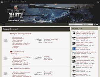 forum.wotblitz.eu screenshot