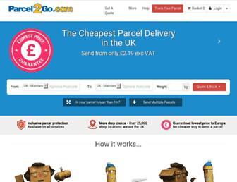 Thumbshot of Parcel2go.com