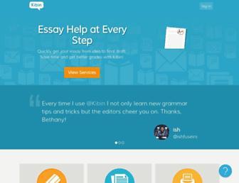 Fullscreen thumbnail of kibin.com