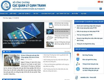 vca.gov.vn screenshot