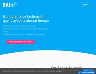 billin.net screenshot
