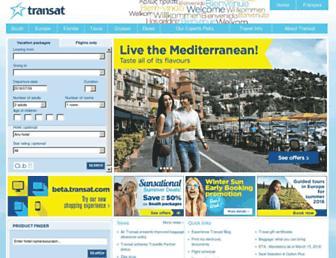transat.com screenshot