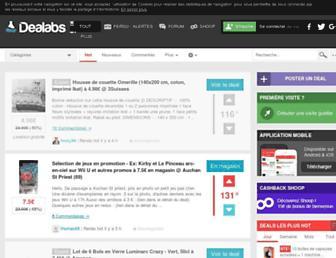 dealabs.com screenshot