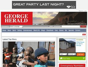 Thumbshot of Georgeherald.com