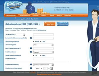 Thumbshot of Nettolohn.de