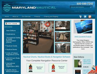 mdnautical.com screenshot