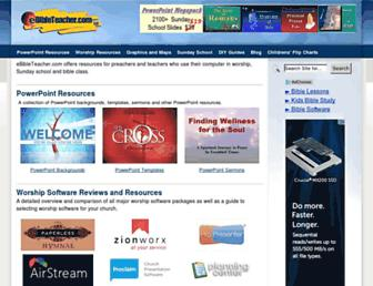 ebibleteacher.com screenshot