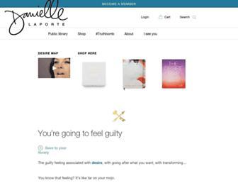 Thumbshot of Daniellelaporte.com