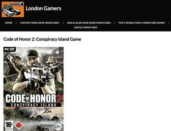 codeofhonor2game.com screenshot