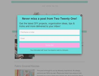 Thumbshot of Twotwentyone.net