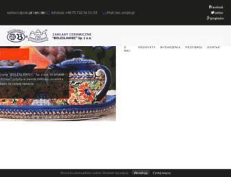 Thumbshot of Ceramicboleslawiec.com.pl