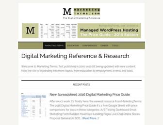 marketingterms.com screenshot