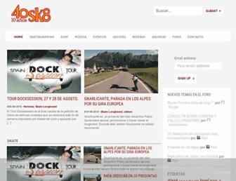 40sk8.com screenshot