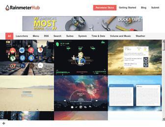 rainmeterhub.com screenshot