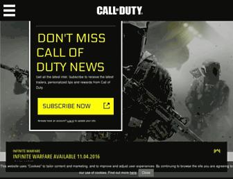 Thumbshot of Callofduty.com