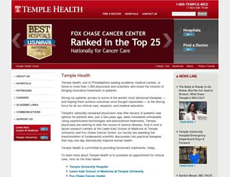 templehealth.org screenshot