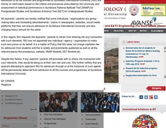 sitpune.edu.in screenshot