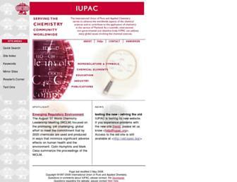 old.iupac.org screenshot
