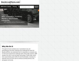 buyaircraftparts.com screenshot