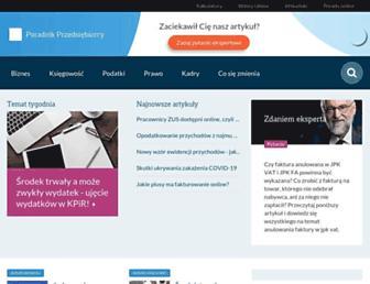 poradnikprzedsiebiorcy.pl screenshot