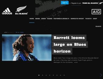 Thumbshot of Allblacks.com