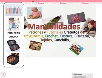 manualidadyreciclado.blogspot.com screenshot