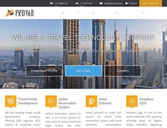 Thumbshot of Provab.com