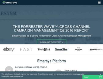 emarsys.com screenshot