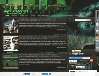 matrixfans.net screenshot