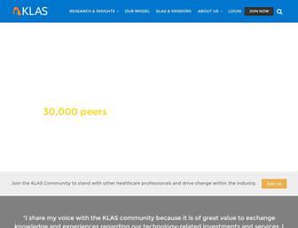 klasresearch.com screenshot