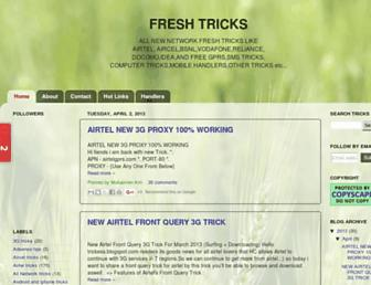 123freshtricks.blogspot.com screenshot