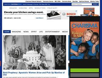 Thumbshot of Charismamag.com