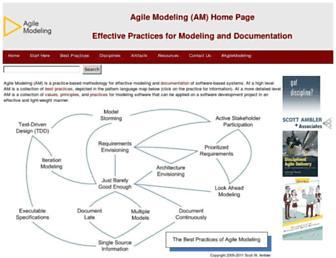 agilemodeling.com screenshot