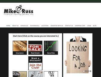 mikeruss.org screenshot