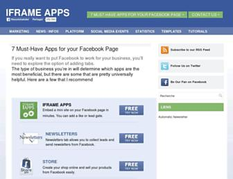 Thumbshot of Iframe-apps.com