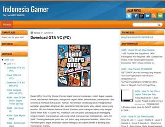indonesiaxgamer.blogspot.com screenshot