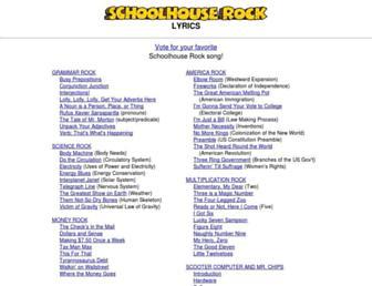 schoolhouserock.tv screenshot