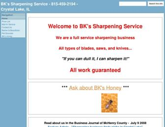 bksharpening.com screenshot