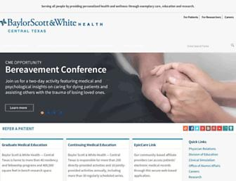 Main page screenshot of healthcare-professionals.sw.org